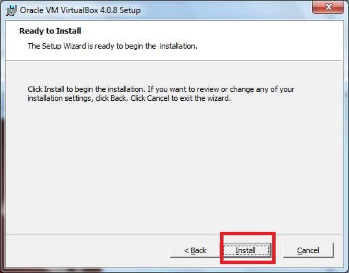 VirtualBox. Установка, Создание и настройка виртуальной машины