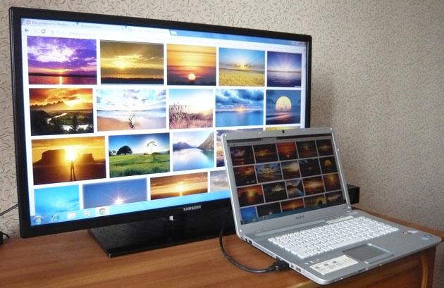 Как подключить телевизор или второй монитор к компьютеру