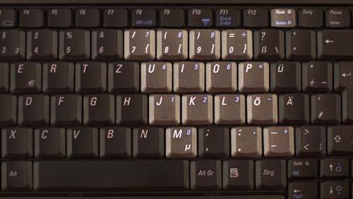 Как включить NumLock на ноутбуке