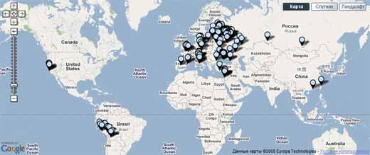 Трипстер — твои поездки на карте